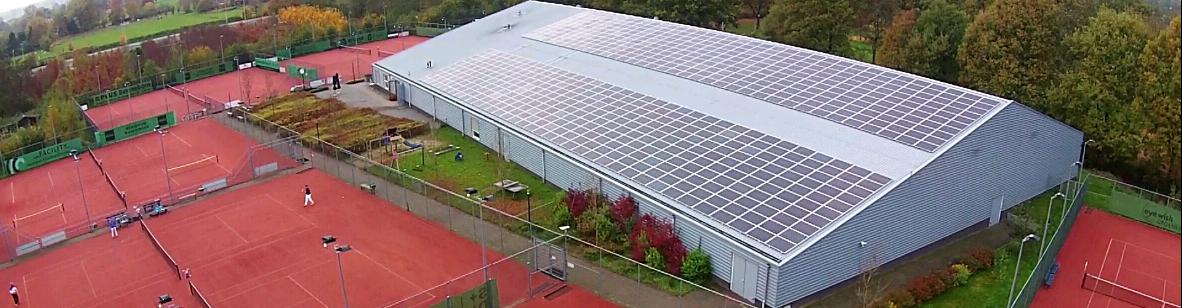 Zonne-energiecentrale in Bennekom!